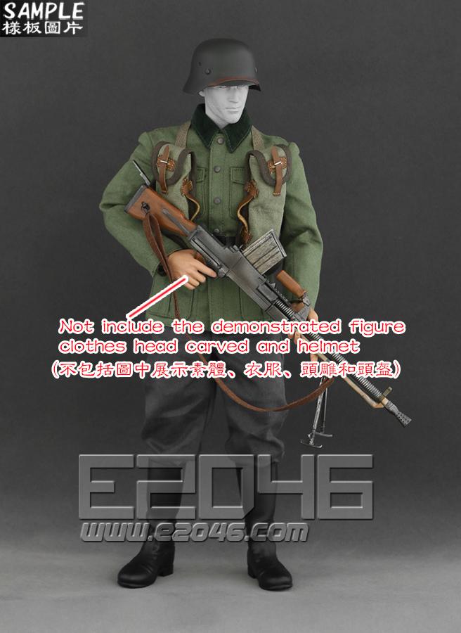 ZB26 light machine gun elevator suits (Doll)