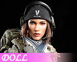 DL0560 1/6 ACU Camo Female Shooter (Doll)