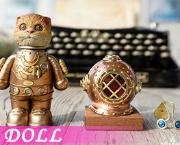 DL3117  Locke Cat Gold (DOLL)