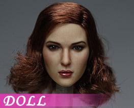 DL1273 1/6 European and American Beauty Head Sculpt A (Doll)