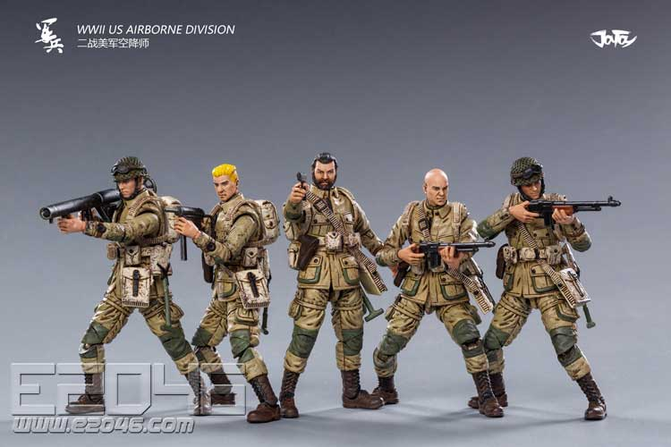 US Airborne Division Of World War II (DOLL)