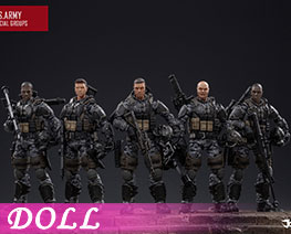 DL2608 1/18 U.S. Army Special Operations Unit (DOLL)