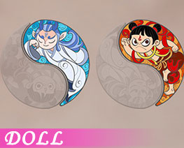 DL2856  Alloy Enamel Badge C (DOLL)