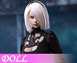 DL1228 1/6 性感女机器人头雕大釖手型套装 (人偶)