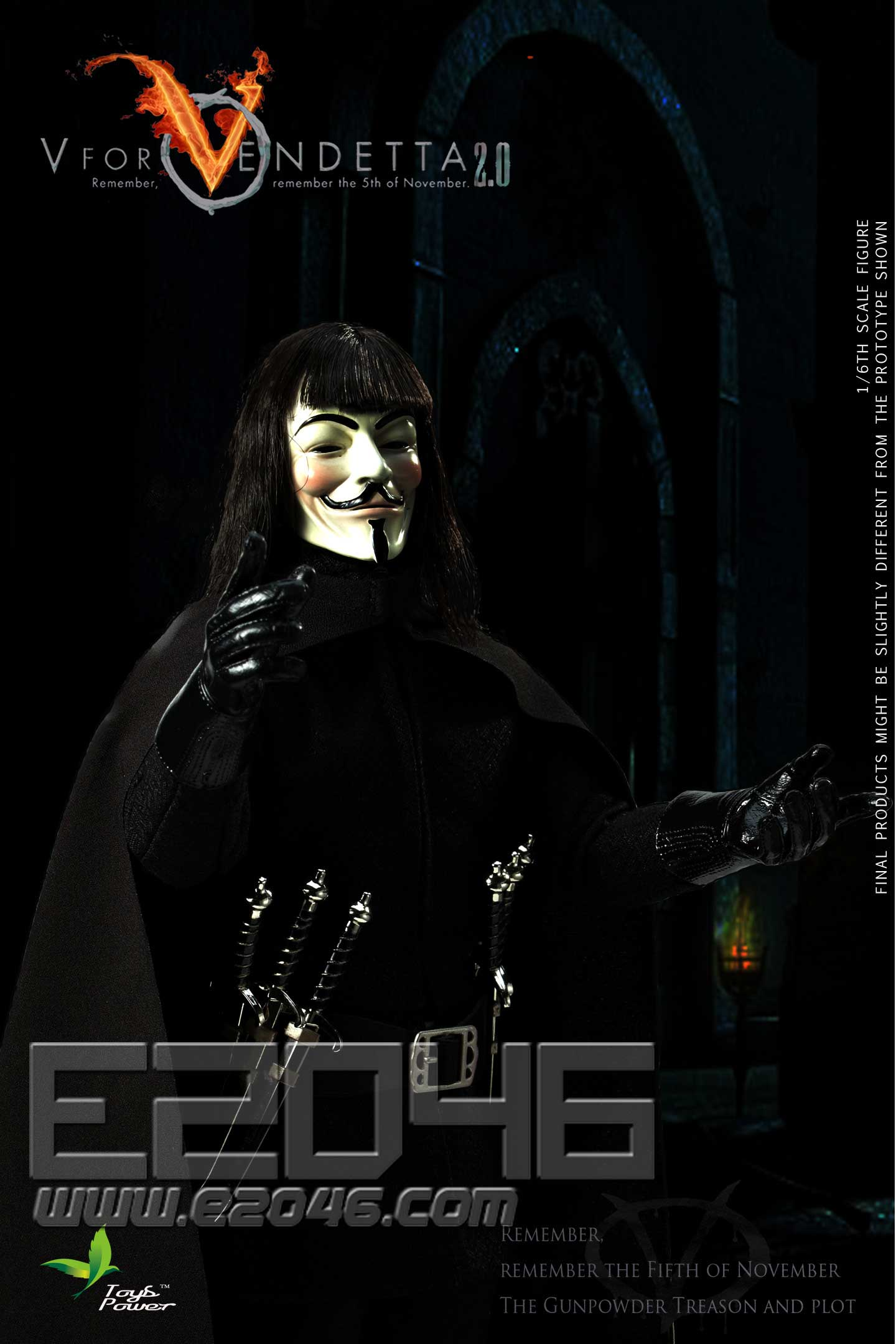 V For Vendetta 2.0 (DOLL)