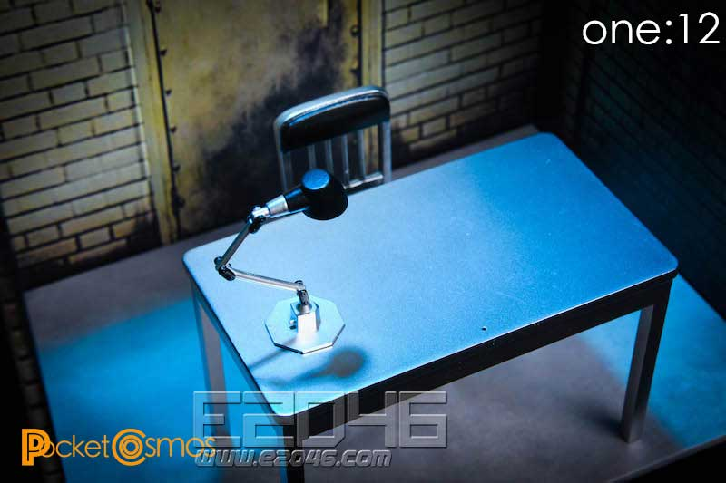 Interrogation Room Scene Set (DOLL)