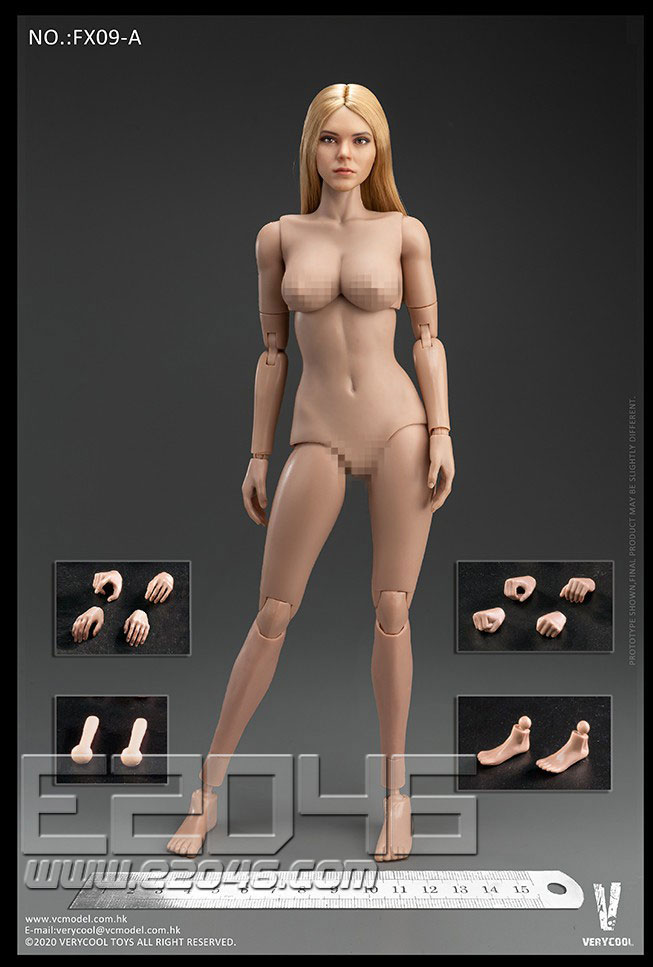 VC 3.0 Female Body Set A (DOLL)
