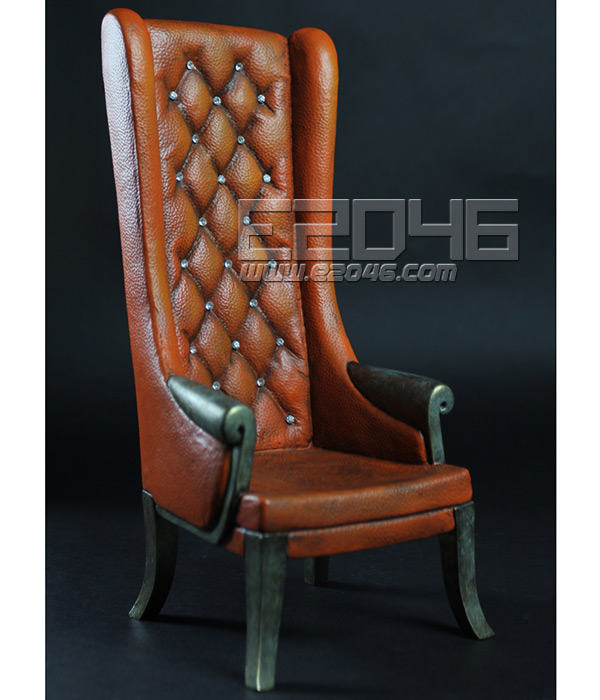 Brown High Back Chairs (Dolls)