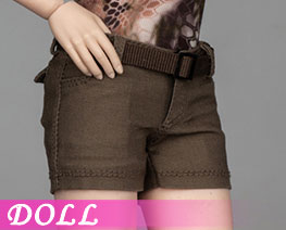 DL3165 1/6 Female Shorts Green Version (DOLL)