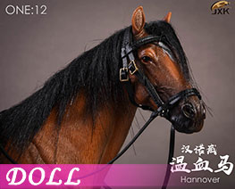 DL1916 1/12 Hanover Warm-blooded Horse D (DOLL)