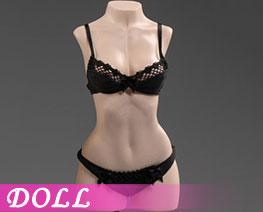 DL3017 1/6 Exquisite Underwear M Black D (DOLL)