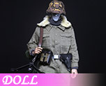 DL0729 1/6 World War II German MG42 machine gun hand winter suit (Doll)