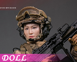 DL4057 1/6 Machine Gunner Tong Li (DOLL)