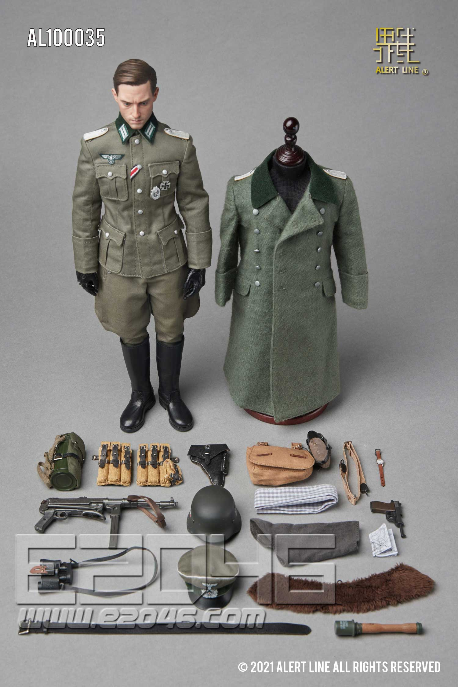 WWII German Army Officer (DOLL)