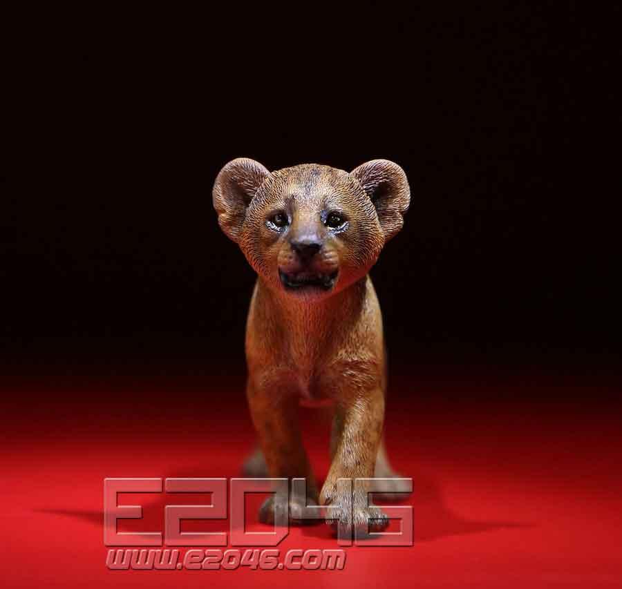 Mandrillus Sphinx & Lion Cub set (DOLL)