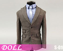DL3730 1/6 Mens Narrow Shoulder Suit B (DOLL)