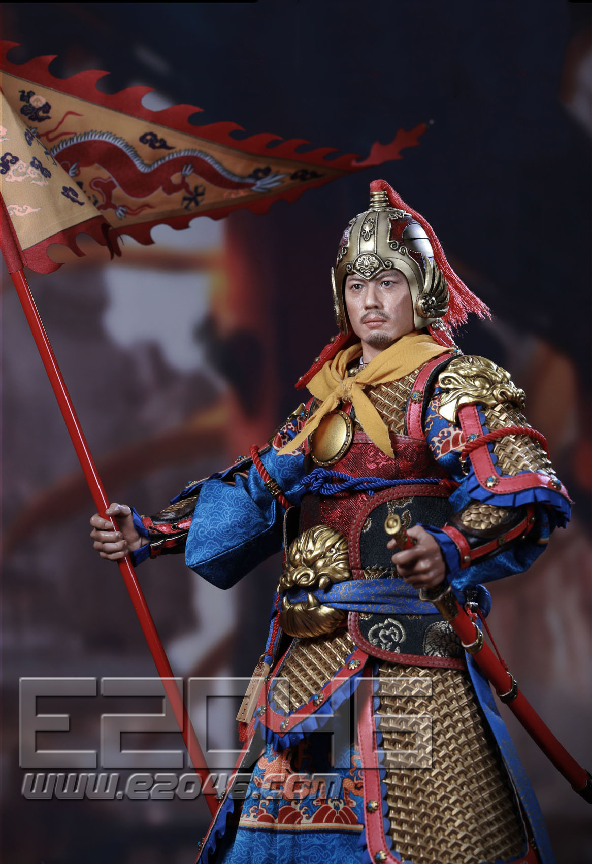 Imperial Guards Golden Armor (DOLL)