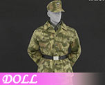 DL0764 1/6 Camouflage Uniform suit B (Doll)