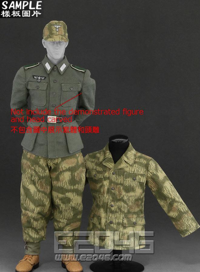 Camouflage Uniform suit B (Doll)