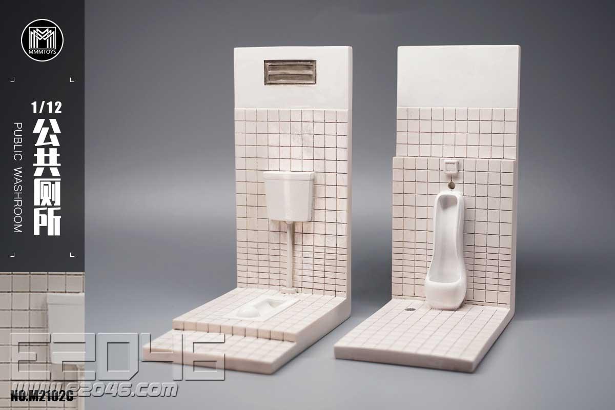 公廁模型 C (人偶)