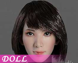 DL2585 1/6 Asian Beauty Head Carving B (DOLL)