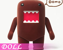 DL2907  Domo Kun Brown (DOLL)