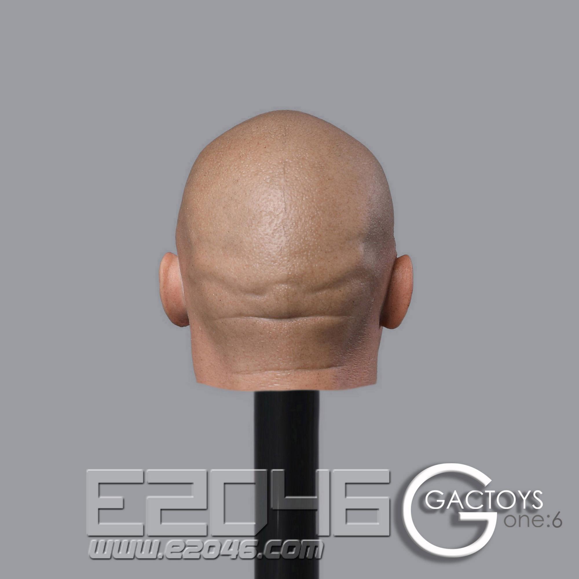 Fierce Man Head (DOLL)