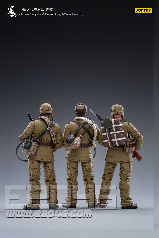 Chinese people's Volunteer Army Winter Uniform Costume Set (DOLL)