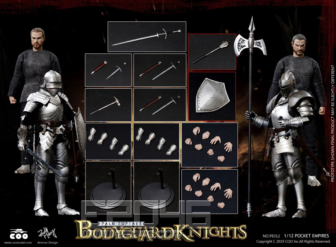 Bodyguard Knights Double-Figure Set (DOLL)