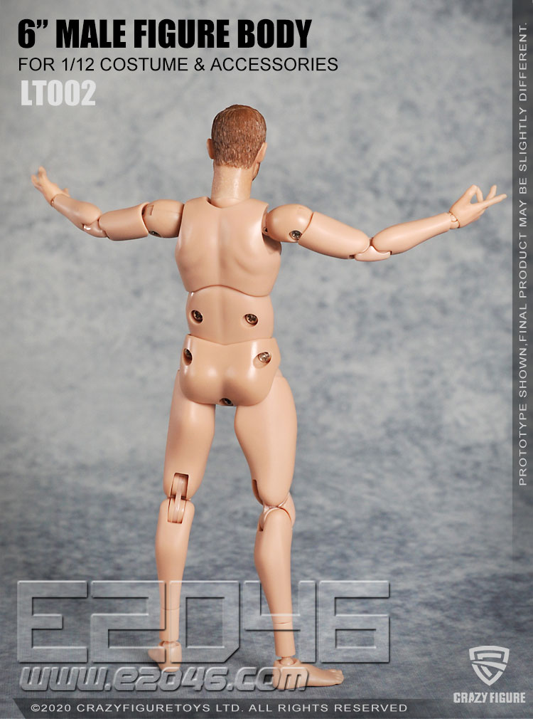 The Head Carves The Multi Joint Movable Male Body B (DOLL)