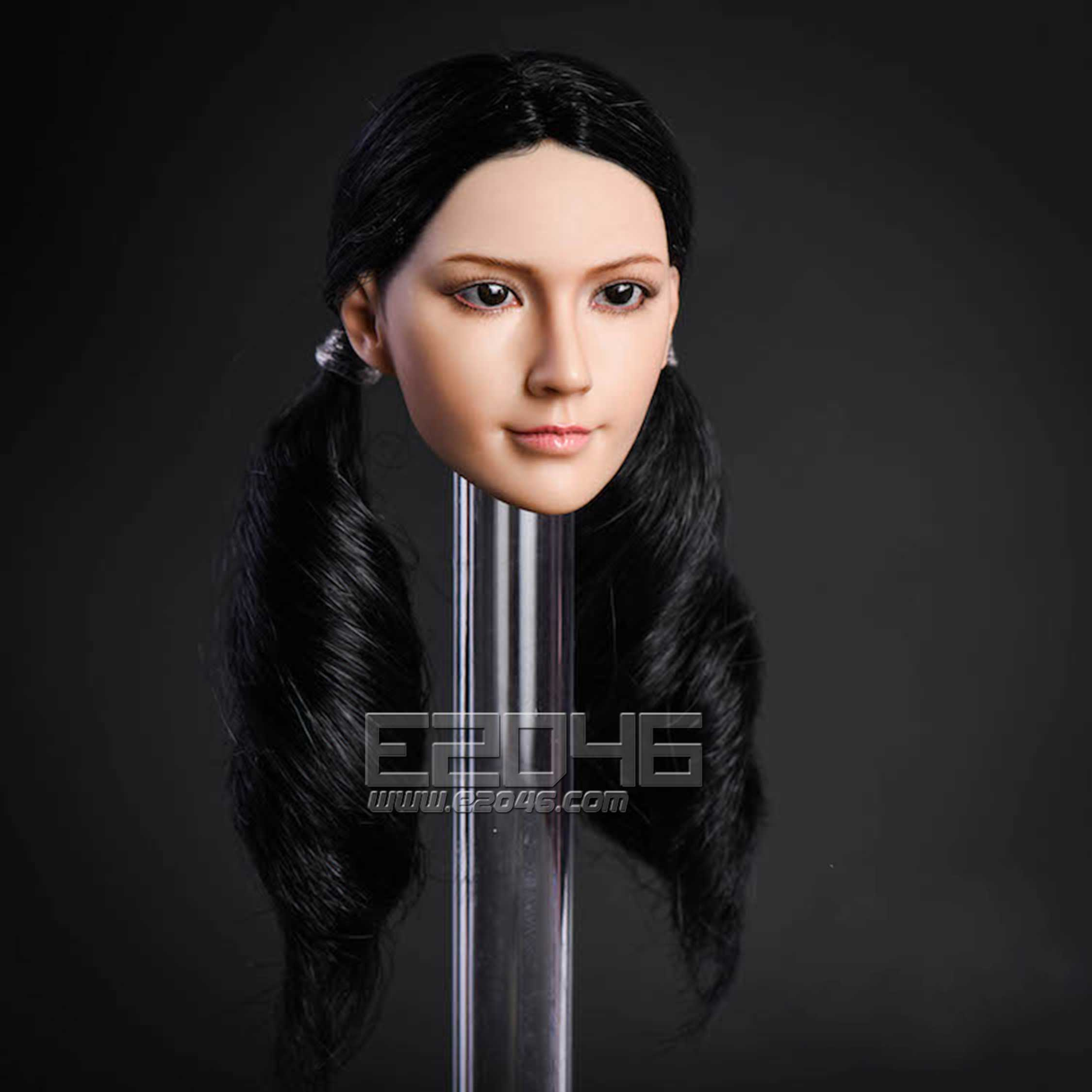 Beauty Head Carving C (DOLL)