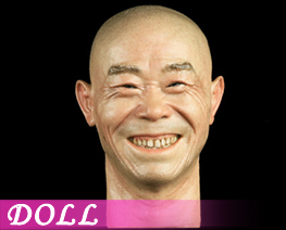 DL1865 1/6 Asian Male Head Sculpt with Expression B (DOLL)