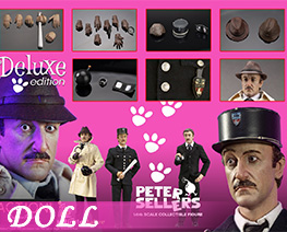 DL4596 1/6 Peter Sellers Suit (DOLL)