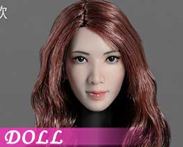 DL2586 1/6 Asian Beauty Head Carving C (DOLL)