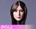 DL1138 1/6 Asian Beauty Hair Head Carving A (Doll)