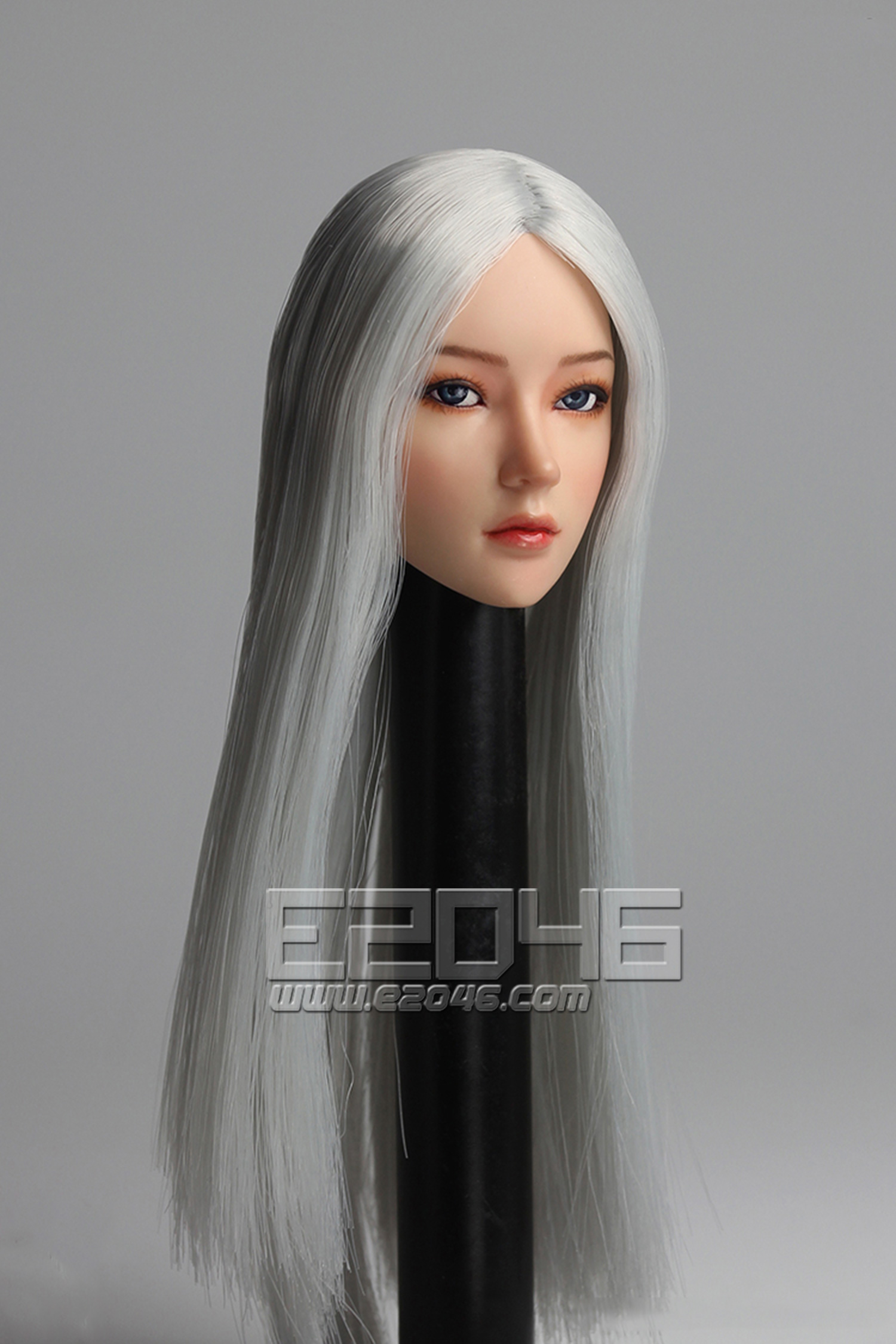 Movable eye female head C (DOLL)