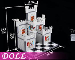 DL3466  Assembled Castle Scene B (DOLL)