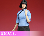 DL0860 1/6 Head eagle and female students C (Doll)