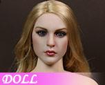 DL0715 1/6 European and American female head sculpture (Doll)