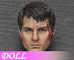 DL0799 1/6 Man head sculpture B (Doll)