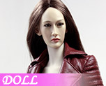 DL0477 1/6 The Nikita female agents leather coat suit B (Doll)