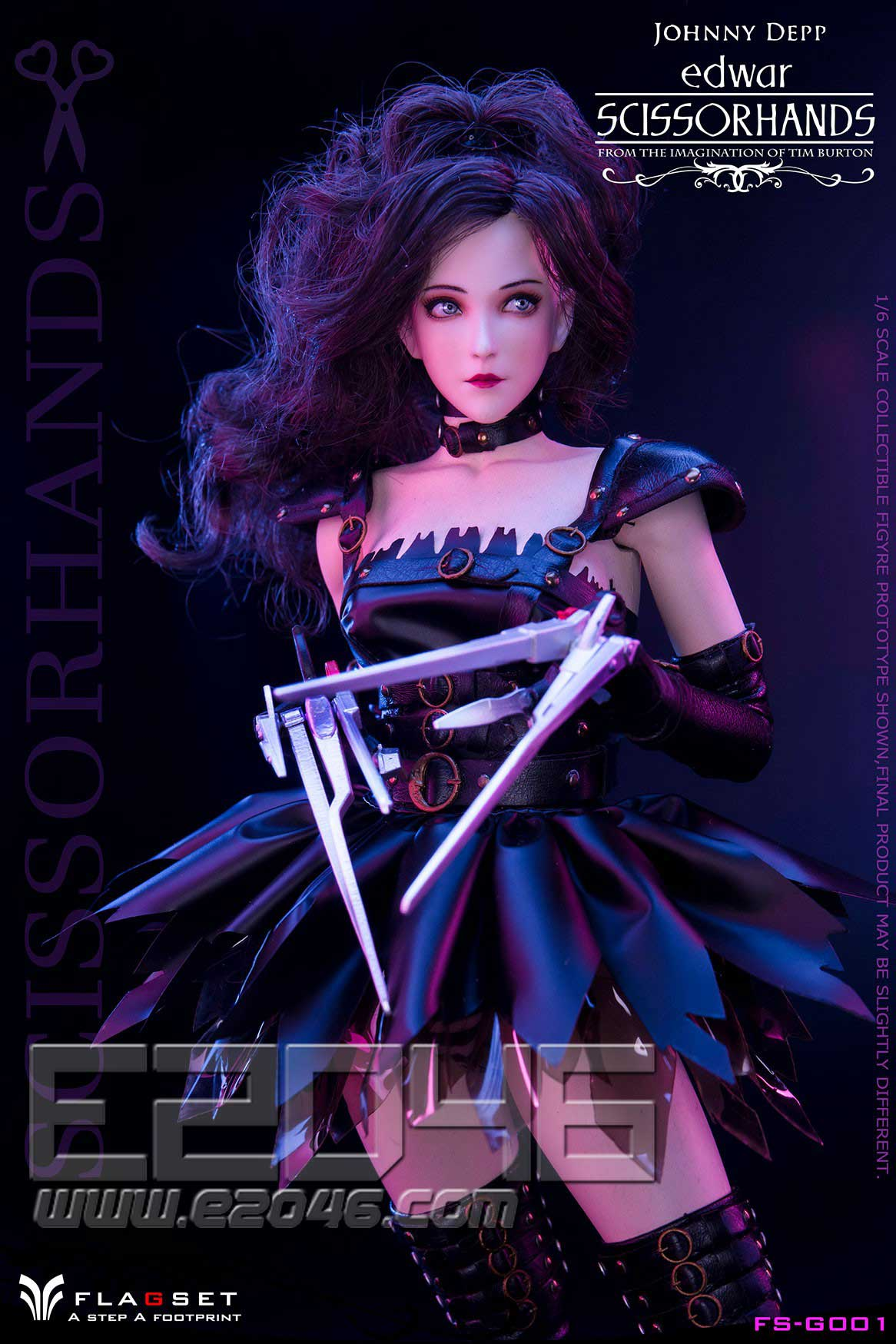 Edwar Scissorhands (DOLL)