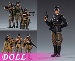 DL4120 1/18 German Wehrmacht (DOLL)
