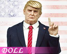 DL2634 1/6 The Finger President Head  Costume Set (DOLL)
