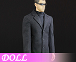 DL1060 1/6 Agent of Overcoat Suits (Doll)