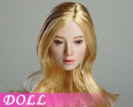 DL1902 1/6 可動眼女頭雕 B (人偶)