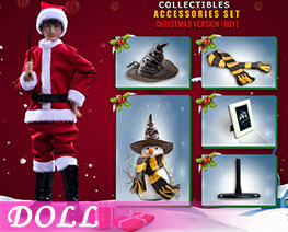 DL2453 1/6 Christmas Set Accessories Boys (DOLL)