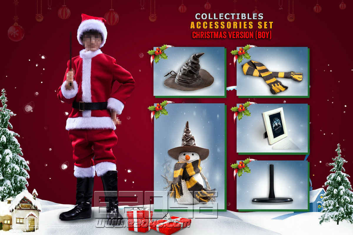 Christmas Set Accessories Boys (DOLL)