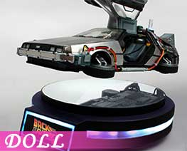 DL1794 1/20 DeLorean Time Machine (DOLL)