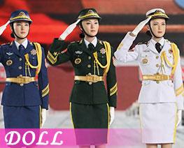 DL2651 1/6 海陸空三軍服裝套裝 (人偶)